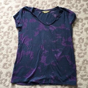 Navy and Purple T-shirt